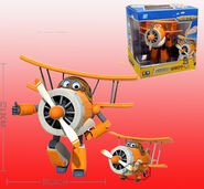 12cm-Cartoon-Grand-Albert-Super-Wings-toys-Planes-Model-Transformation-Airplane-Robot-Action-Figures-doll-model