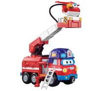 Super Wings Sparky Firetruck Fire Truck Voice Actor by Nathan Blaiwes Dizzy Rescue Rider 2019 Season 3