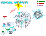 Glacial Outpost Map