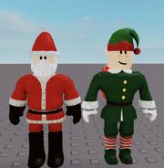 Santa (5) and Elf (6)