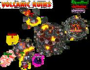 Volcanic Ruins Map