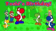 Super AniMario Bros Yoshi's Birthday! (S1, EP7)