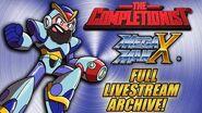 The Completionist COMPLETES Mega Man X LIVE! Livestream VOD