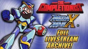 The_Completionist_COMPLETES_Mega_Man_X_LIVE!_Livestream_VOD