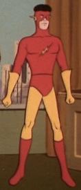 Kid Flash's costumes