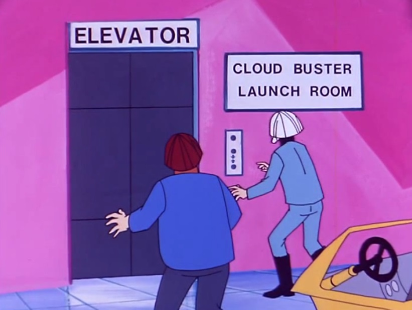 Cloud Buster Launch Room