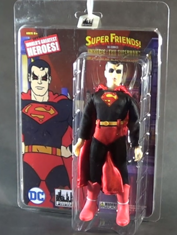 Universe of Evil Superman (Official World's Greatest Heroes! figure)
