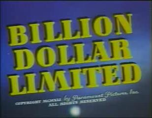Billion Dollar Limited