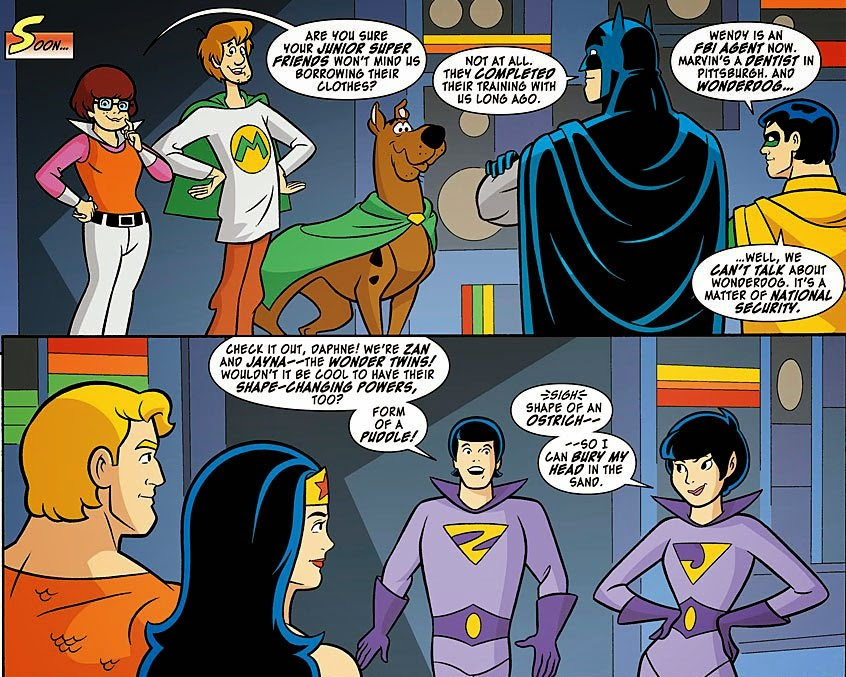 Jr. SuperFriends Scooby Doo Style