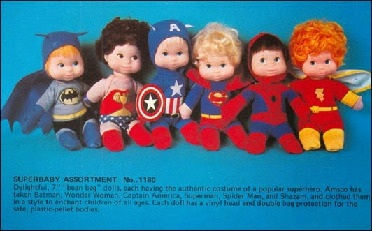 Super Baby Rag Dolls