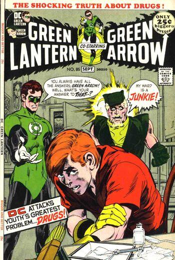 Cover (Green Lantern 85 September 1971).jpg