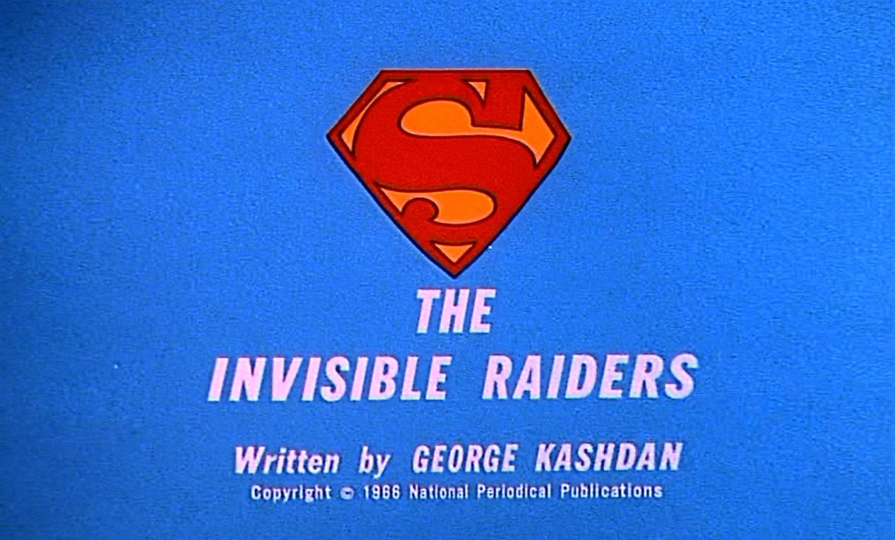The Invisible Raiders