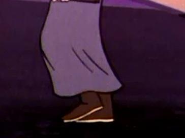 Rubber rain boots