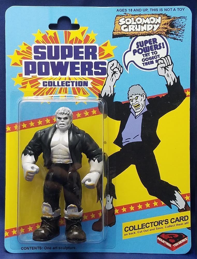 Solomon Grundy (Super Powers figure)