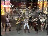 Super Herois cantam e dançam no Programa Carlos Imperial (1979)- Somos Todos Super Amigos