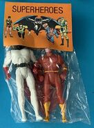 Space Ghost and Flash (Superheroes figures)