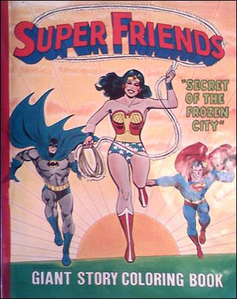 Super Friends - Secret of the Frozen City