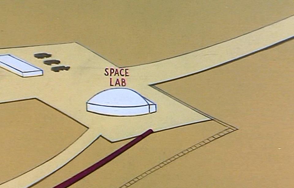 Mars space lab
