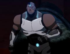 (2013) Cyborg Michael B. Jordan (JL - The Flashpoint Paradox)
