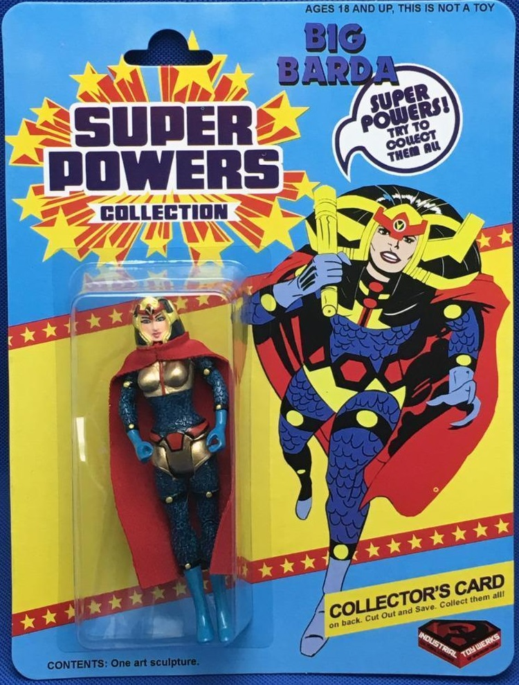 Big Barda (Super Powers figure)