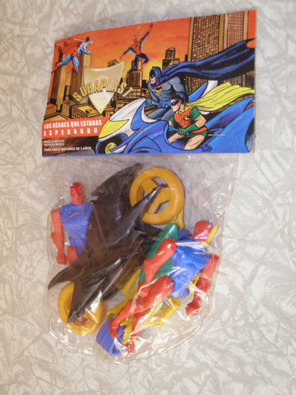 Heroes You've Been Waiting For (Super Powers figures)