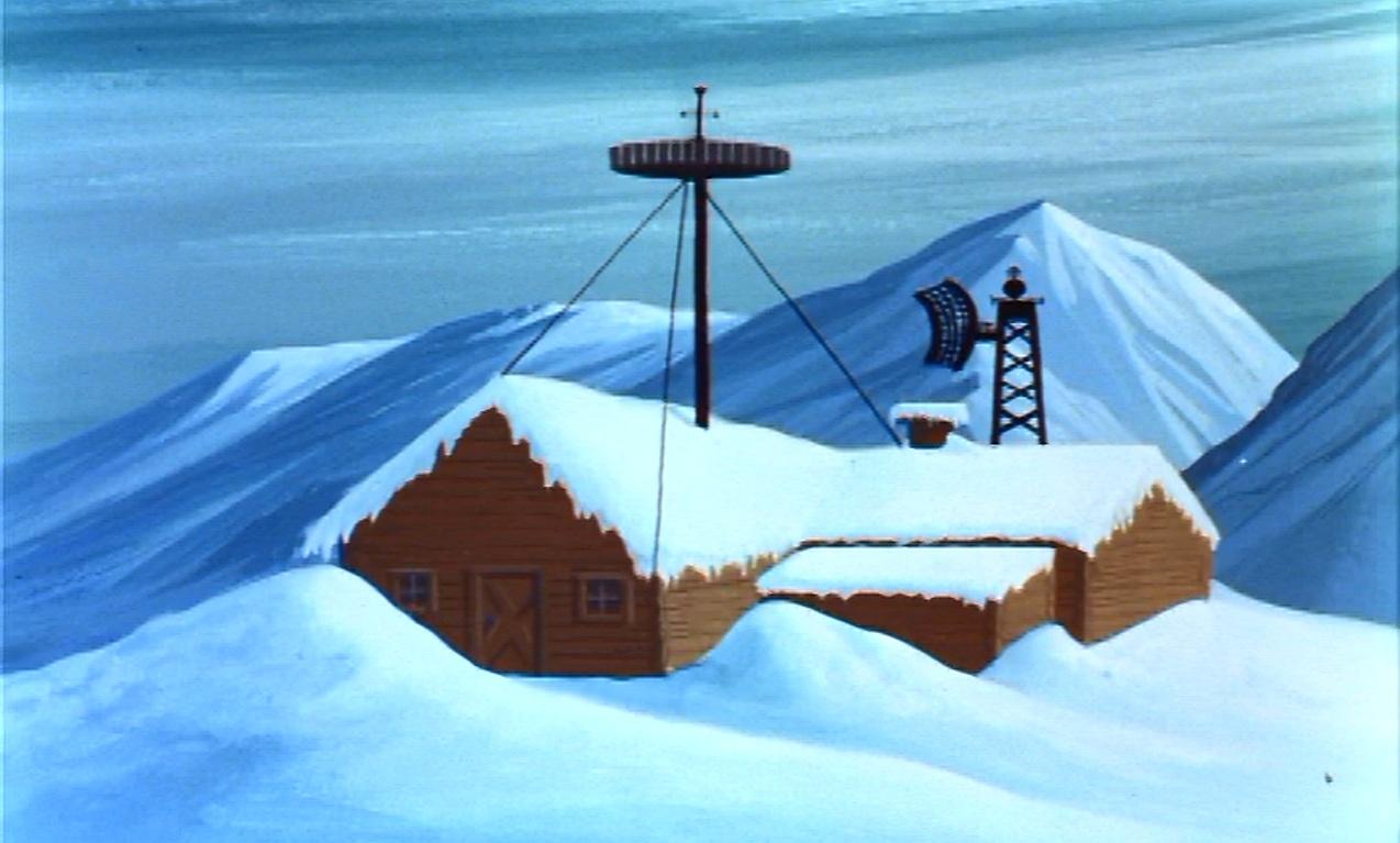 Arctic shack