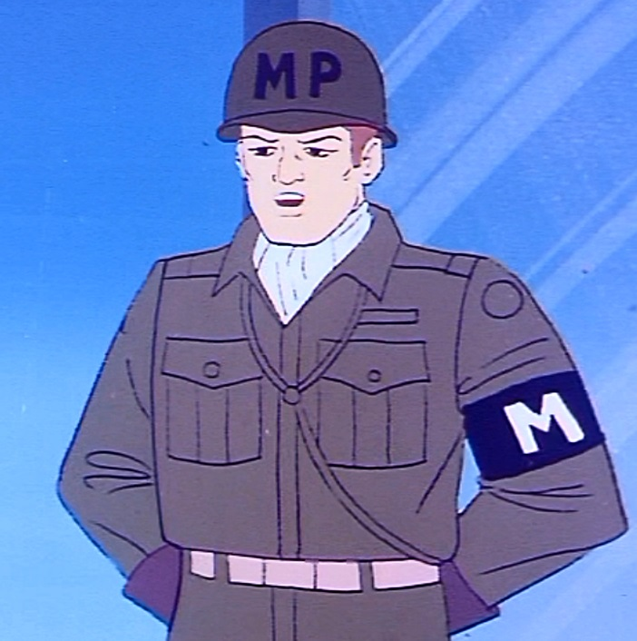 Military policeman (The Androids)