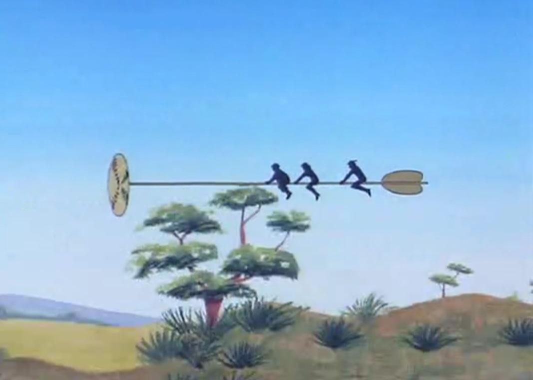 Hover arrow
