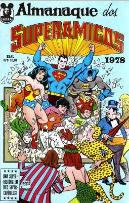 Superamigos Comic Books