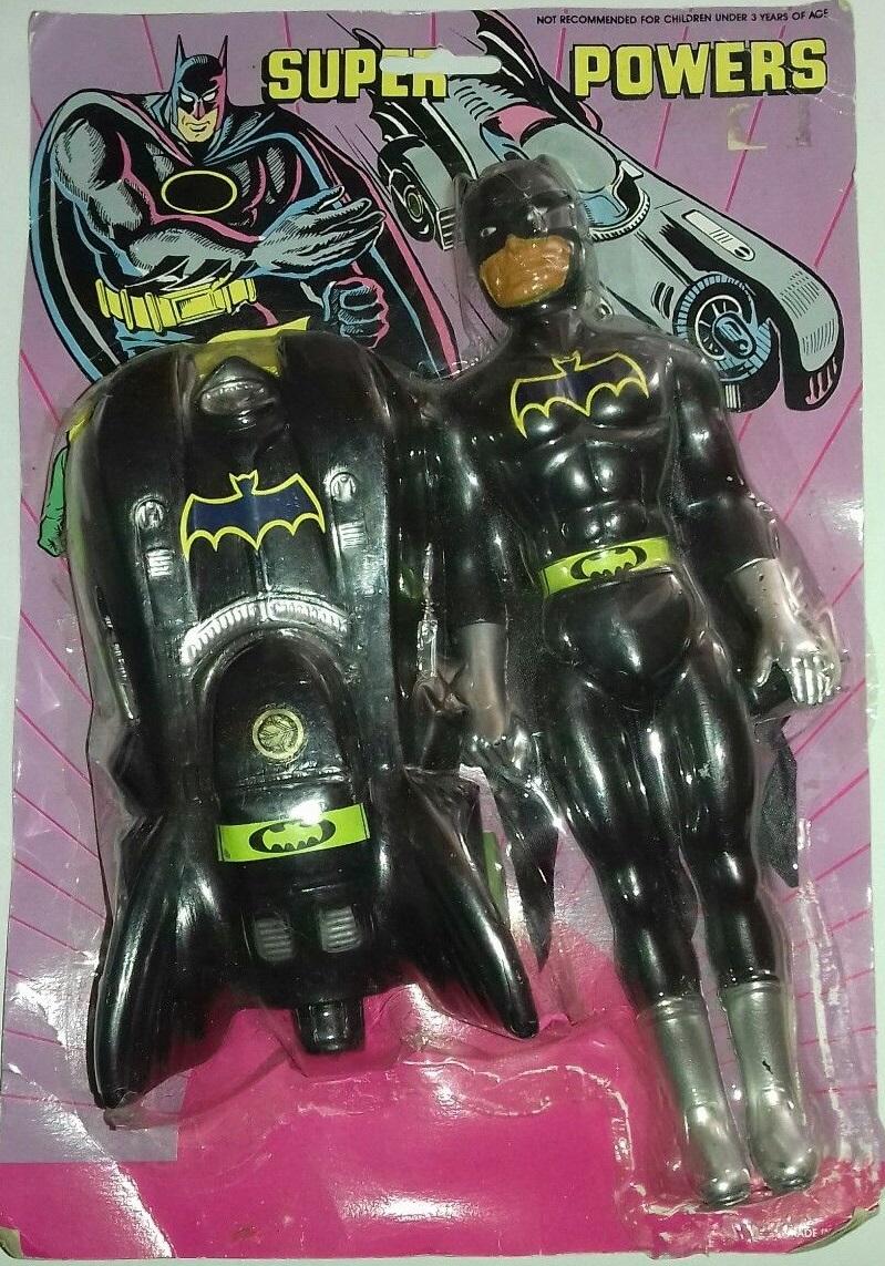 Batman (Super Powers Action Figure w/ Batmobile)