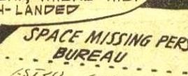 Space Missing Persons Bureau