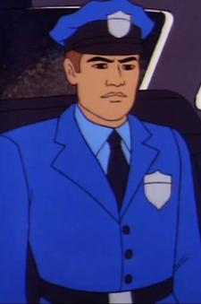 Metropolis Police Man 1 (02x1a - The Brain Machine) Casey Casem.png