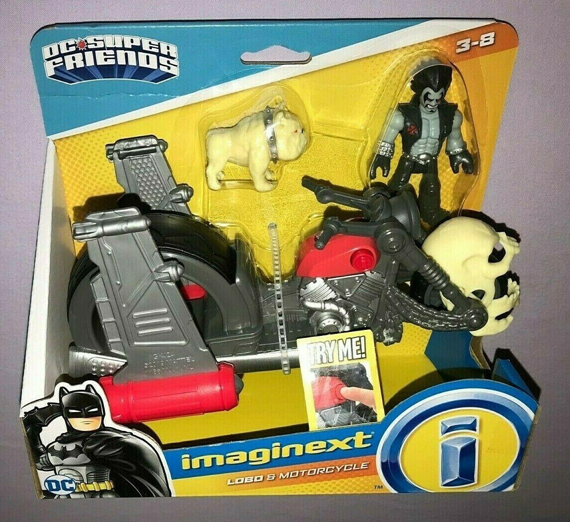 Lobo & Motorcycle (DC Super Friends Toy)