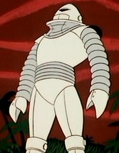 J. Quiggly Bent's robot