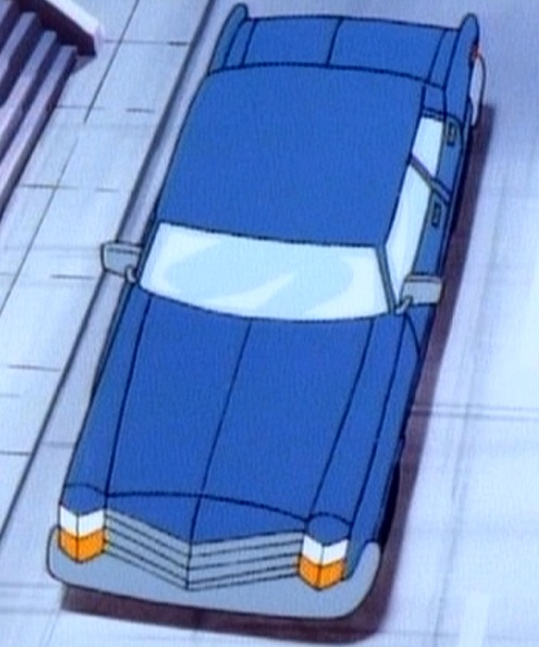 Inspector Henderson's car