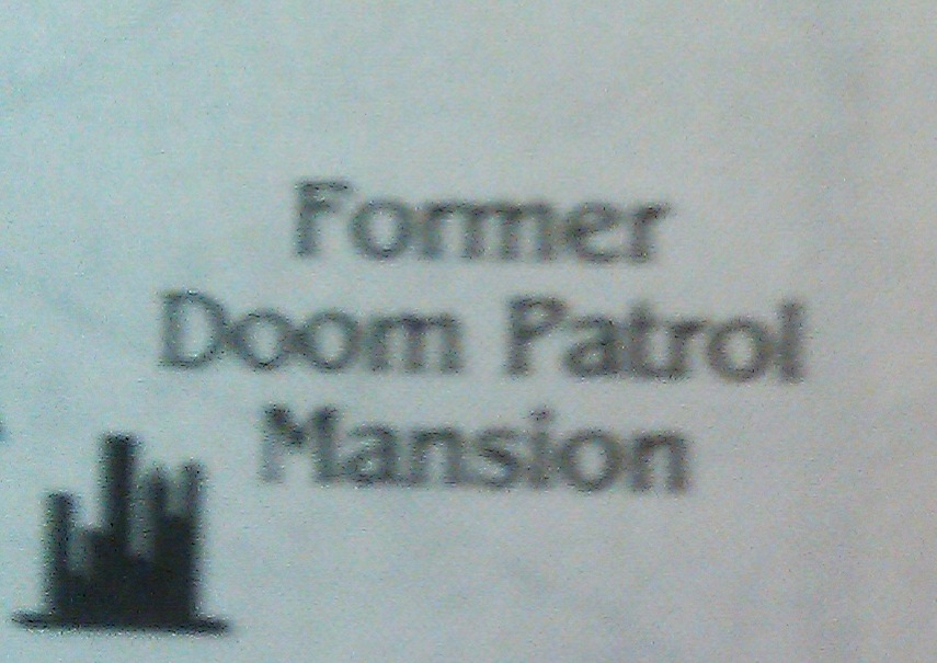 Doom Patrol Mansion