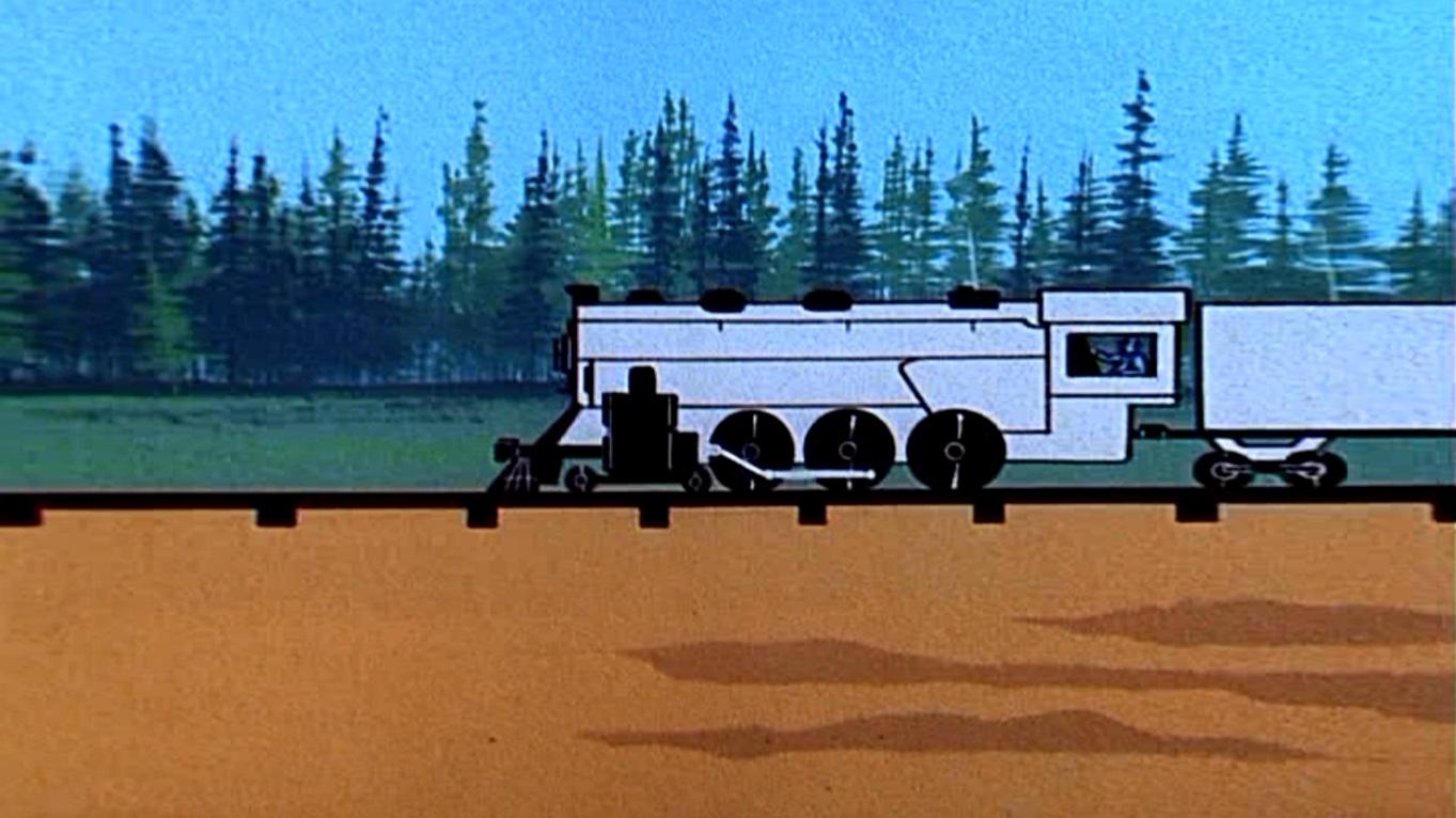 L & R Express train