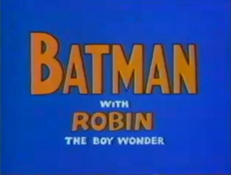 Batman with Robin the Boy Wonder