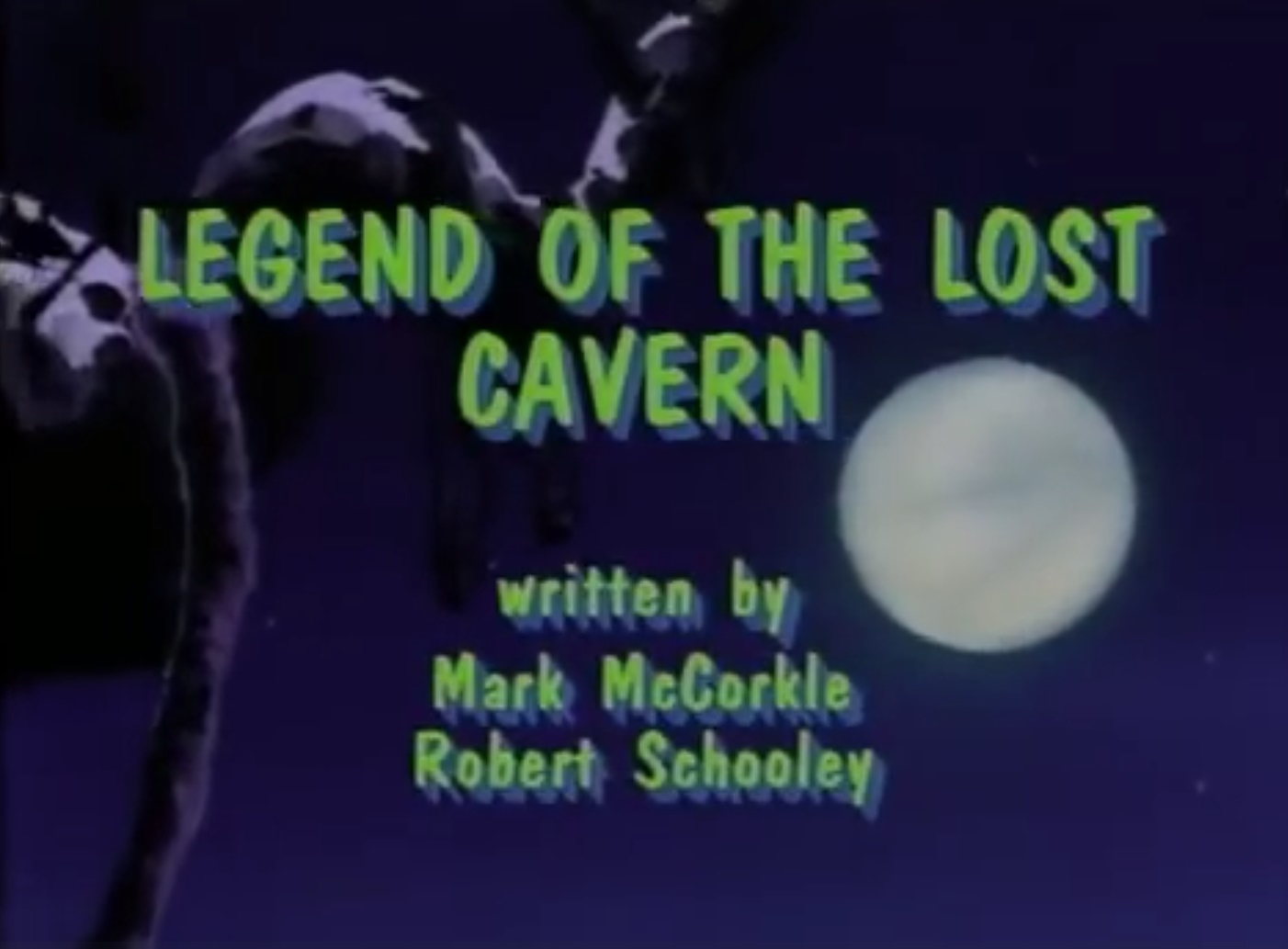 Legend of the Lost Cavern