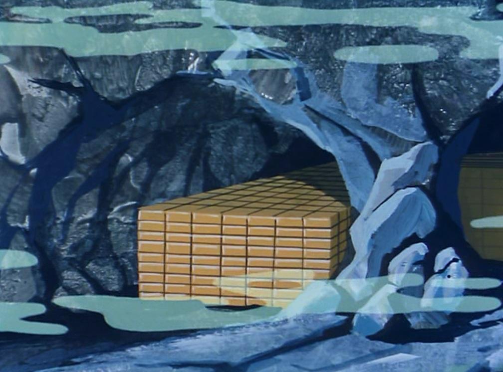 Underwater Caverns