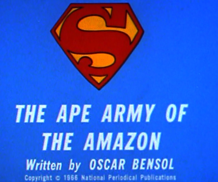 The Ape Army of the Amazon
