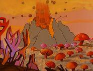Krypton volcano
