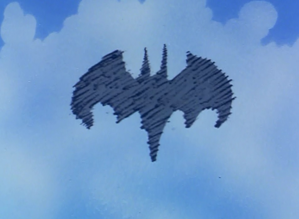 Daylight bat-signal