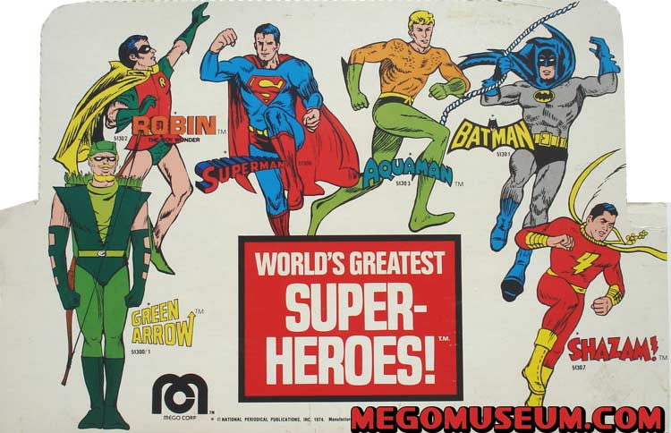 The World's Greatest Super-Heroes!