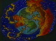 Apokolips-like Earth