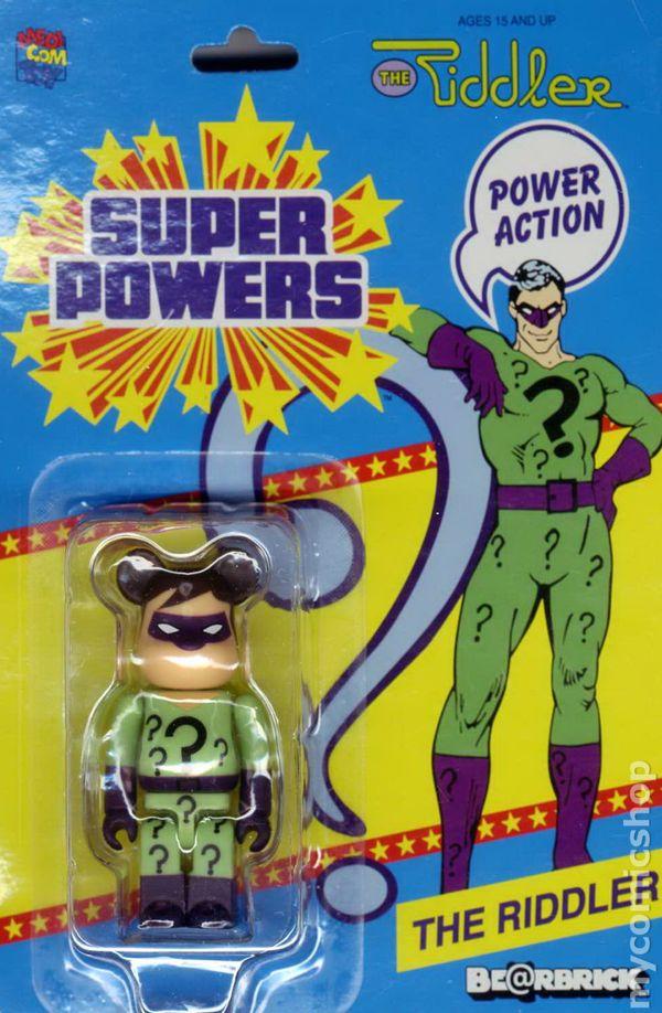 Riddler (Bearbrick Super Powers figure)