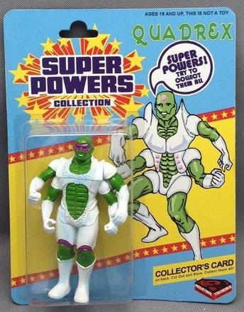 Quadrex (Super Powers figure)