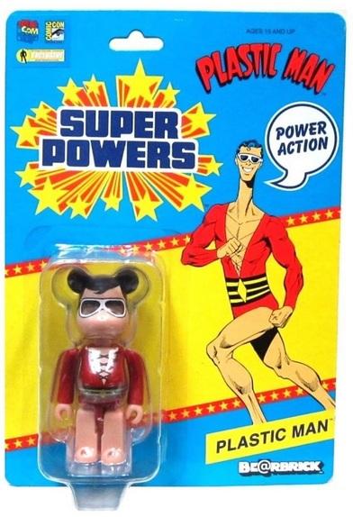 Plastic Man (Bearbrick Super Powers figure)
