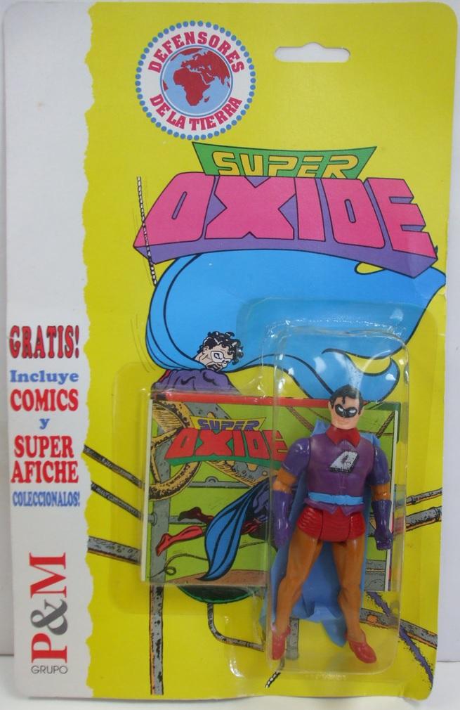 Super Oxide (Super Powers figure)