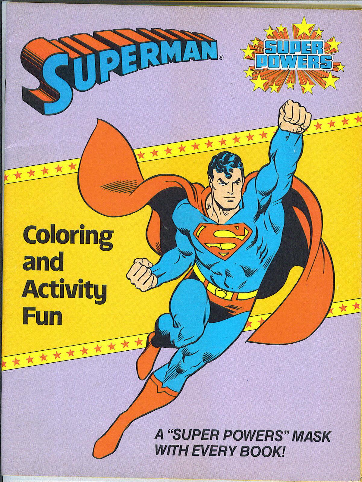 Superman (Coloring and Activity Fun)